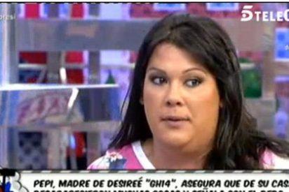 """El dramático circo familiar de Desireé ('GH14'): un padre """"guarro"""", una madre 'aterrada', una hermana cantante y un secreto inconfesable"""
