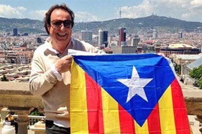 El cantante Dyango sale del 'armario' independentista catalán