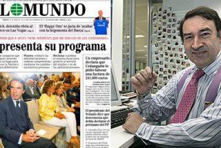 """Jiménez Losantos: """"Aznar no citó a PRISA, pese a tener delante a Soraya Sáenz de Santamaría, su responsable de recursos financieros y bancarrotas diferidas"""