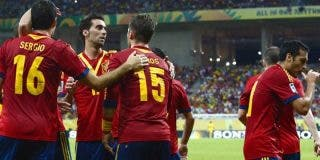 España derrota a Uruguay y da una exhibición de fútbol en la primera parte