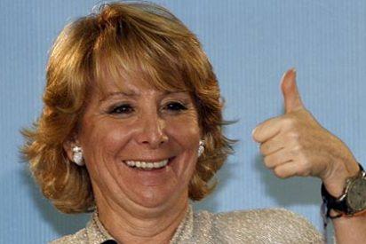 """Esperanza Aguirre: """"Somos especialistas en resolver los problemas que crea el PSOE"""""""