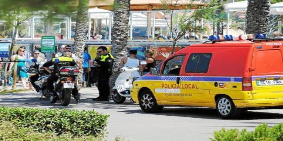 Muere ahogado un turista de unos 70 años en la Playa de Palma