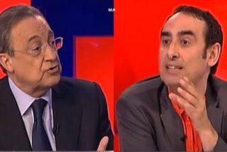 """Florentino Pérez a Iturralde González: """"Es usted un grosero y tiene mala conciencia"""""""