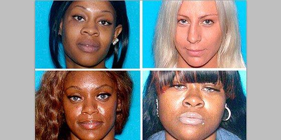 Las cuatro 'ladronas sexy' que están en busca y captura en Florida