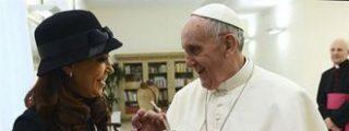 "Cristina Fernández felicita al Papa y le aconseja ""tomar mate"""