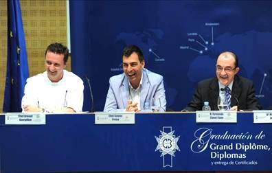 Ramón Freixa, padrino de una nueva promoción de Le Cordon Bleu Madrid