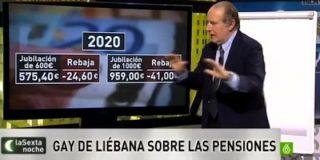 """Gay de Liébana analiza el 'pensionazo': """"Hay que posponer la edad de jubilación"""""""