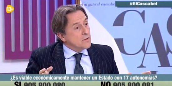 """Hermann Tertsch contra el Grupo Godó: """"En un programa de una radio agresiva anti-española de un 'Grande de España' dijeron que yo era el alma negra del fascismo"""""""