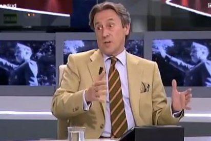 Se cuelan imágenes de Franco en Telemadrid mientras Hermann Tertsch hablaba sobre Aznar