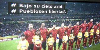 La BBC puso por su cuenta letra al himno de España en la Confederaciones