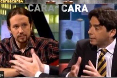 """El fabricante de miseria Pablo Iglesias inunda la pantalla de resentimiento: """"Ganabas 100.000 y otros sólo 450 euros, eso es violencia"""""""