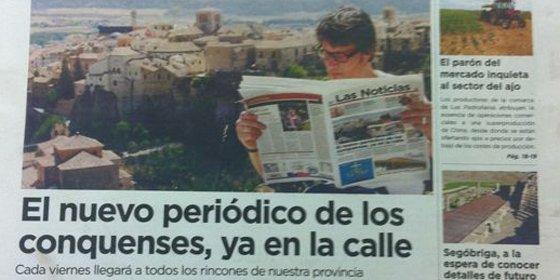 Cuenca vuelve a tener periódico en papel: Las Noticias de Cuenca sale hoy a la calle