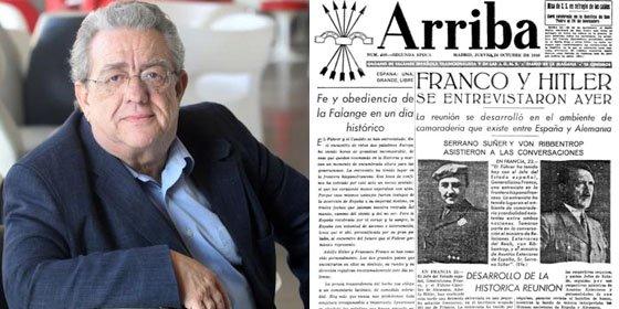 """José María Izquierdo (SER): """"La Razón y ABC aplauden a la troika como la Prensa del Movimiento a Franco con el Valle de los Caídos"""""""