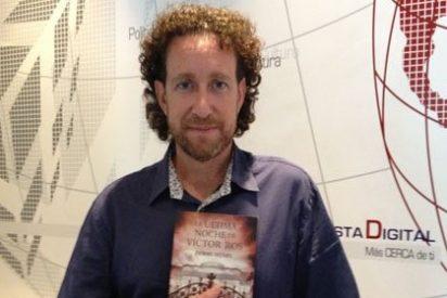 """[VÍDEO ENTREVISTA] Jerónimo Tristante: """"Víctor Ros es un homenaje que hago a Holmes y a la literatura de folletín"""""""