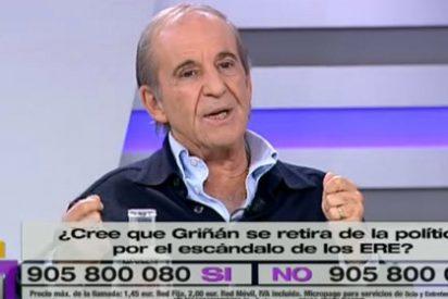 """José María García: """"Franco eligió al sucesor y Aznar, enemigo de la libertad, nombró a Rajoy con el dedo"""""""