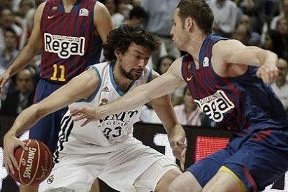 El Real Madrid gana al Barça en un partido dramático y se adelanta en la final de la ACB