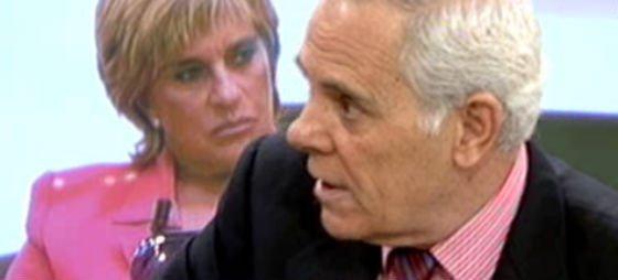 """Jimmy G. Arnau se vuelve a reír de Chelo Gª Cortés y del marido de Lydia Lozano en directo: """"Charly es un vago y un brasas al que conocí fumando canutos"""""""