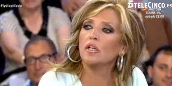 ¿Ocurrió algo en la boda de la directora del 'Deluxe' para que Lydia Lozano rompa a llorar y sea amenazada por Jimmy G. Arnau?