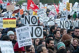 En 80 ciudades europeas se manifiestan contra el 'austericidio' de la Troika