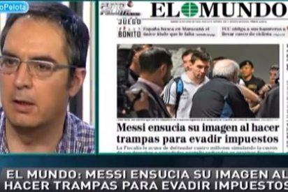 """Lluís Mascaró se indigna con El Mundo por atacar a Messi: """"Esa portada es una interpretación malévola y con un titular demagógico"""""""