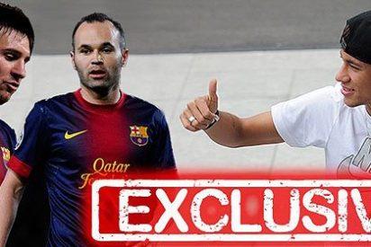Revolución en el vestuario del Barça porque Neymar gana mucho más que Messi