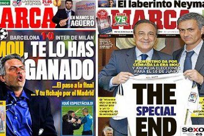 """Mourinho acusa a la prensa deportiva española de """"falta de ética"""""""