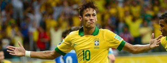 El Brasil de Neymar gana a Italia 4-2 y termina primera de grupo