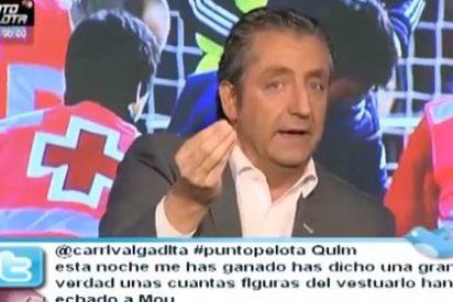 """Pedrerol eleva el tono en defensa de Mourinho: """"Se ha enfrentado a los que mandan y eso me gusta"""""""