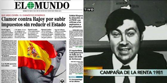 'El Objetivo' le recuerda a Pedrojota sus anuncios pidiendo a la gente que pague impuestos