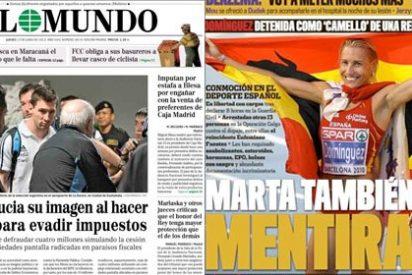 Pedrojota acusa a Leo Messi de 'hacer trampas' como en su día lo hizo con Marta Domínguez