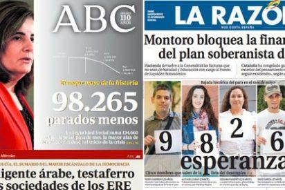 España aún tiene 5 millones de parados, ¿no es muy pronto para descorchar el champán?