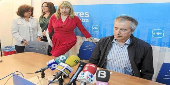 El PP de Ibiza mueve papeles para echar de una vez por todas a la exalcaldesa Jáuregui