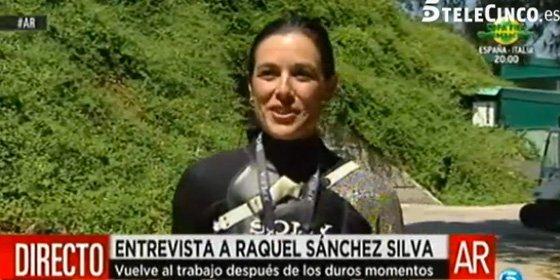 """Raquel Sánchez Silva concede a 'AR' su primera entrevista: """"Hoy tengo la oportunidad de superar los miedos con los que convivo"""""""