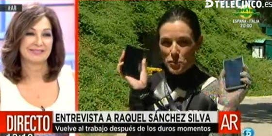 El duelo de la viuda Raquel Sánchez Silva patrocinado por Sony: ¿por qué anunció un teléfono mientras hablaba de su dolor?