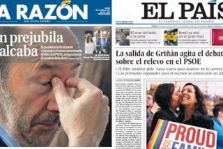 La marcha diferida de Griñán mueve los cimientos de Ferraz, pero Rubalcaba se aferra