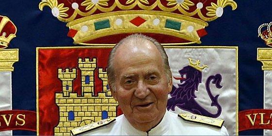 """El Rey: """"Aunque digan que estoy enfermísimo, es asunto de tornillos"""""""