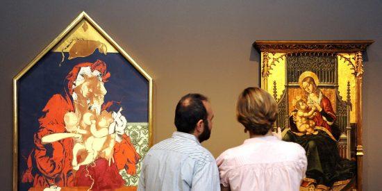 Diálogo a tres bandas entre fotografía y pintura