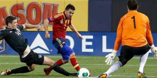 Soldado y Mata dan la victoria a España ante Irlanda en Nueva York