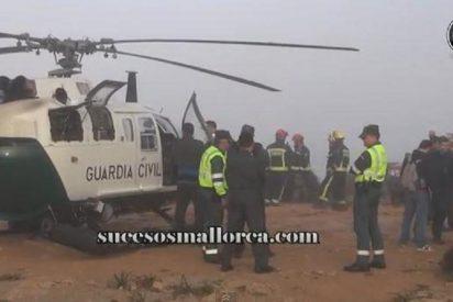 Encuentran el cadáver de un aficionado al parapente en lo más alto del Puig Major