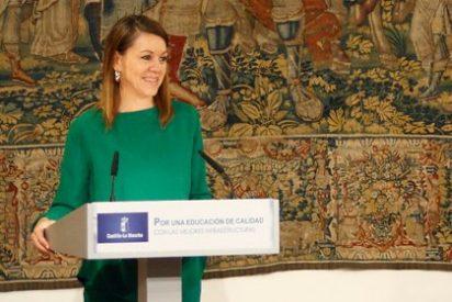 """Cospedal califica el dato del paro correspondiente al mes de junio de """"histórico"""""""