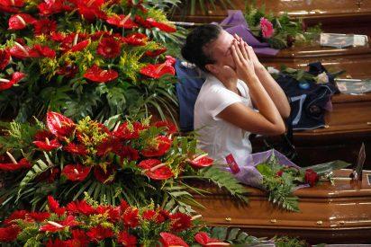 Conmovedor funeral por las víctimas del accidente de Italia