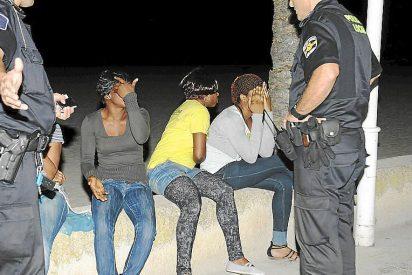 'Golpe' policial a las prostitutas que roban y pegan palizas a los turistas en Playa de Palma