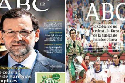 ABC pone las manos en el fuego por Rajoy y dice que no cederá: lo mismo dijo de la farsa de Bolinaga