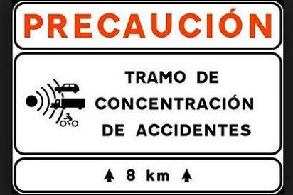¿Sabes cuáles son los tramos más peligrosos de la red española de carreteras?