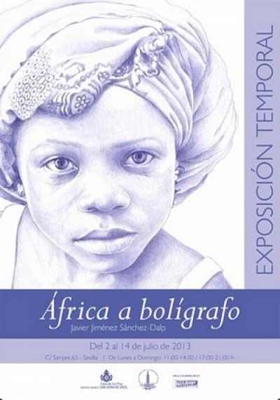 """Exposición """"África a bolígrafo"""""""