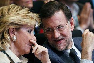 Esperanza Aguirre amaga sin dar a Rajoy en el Comité Ejecutivo del PP