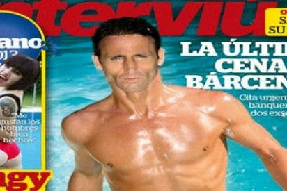 """El grotesco (y maquillado) desnudo integral de Álvaro Muñoz Escassi en 'Interviú': """"Sonia Ferrer me vuelve loco"""""""