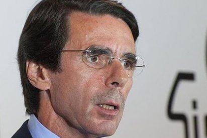 """José María Aznar: """"A mí, lecciones de lealtad al PP cero"""""""