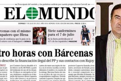 """Madero (ABC) contra El Mundo: """"No vomitan cuando se juntan hoy con Bárcenas, ayer con Roldán, con los jefes de ETA, Perote, Amedo, Domínguez y soplones del 11M"""""""