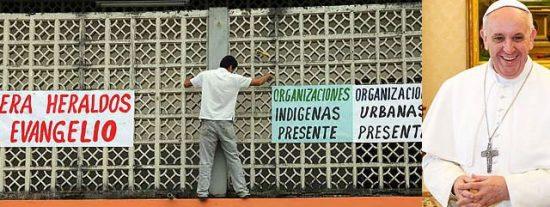 Sucumbíos pide a Francisco que el obispo Marañón pueda regresar a Ecuador